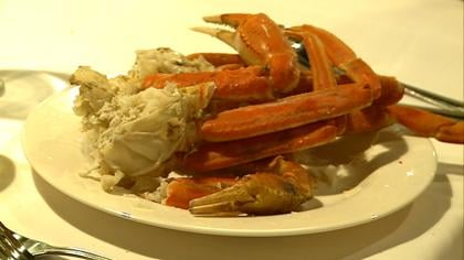 WinnaVegas Casino's, Flowers Island Restaurant, is known for their snow crab legs.