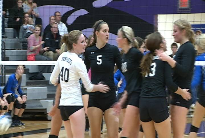 Dakota Valley advanced to the championship game of the Class A state volleyball tournament with a sweep of Belle Fourche.