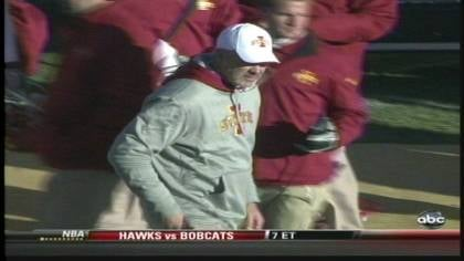 Iowa State ends the regular season with a 6-6 record.