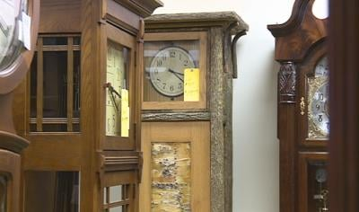 Grandfather clocks are still a family heirloom.