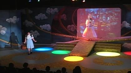 "We're not in Kansas anymore. Sioux City Community Theatre performs ""Wizard of Oz"" for Siouxland students."