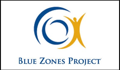 The Blue Zone Project will officially kick off with a rally at 5:30 p.m.