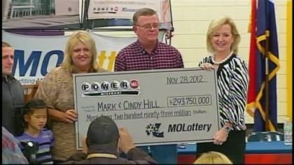 Mark S. Hill bought the winning ticket for himself and his wife, Cindy, at a gas station in Dearborn.
