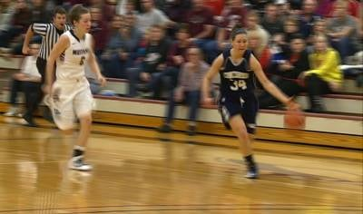 Morningside lost to #1 Concordia, 80-76, in women's basketball action on Saturday.