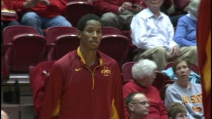 Will Clyburn leads the Cyclones averaging more than 17 points per game.