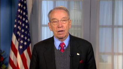 Grassley says he is not optimistic about a deal being reached before the end of the year.