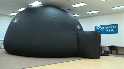 The planetarium will revolutionize how students learn about astronomy and science.