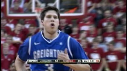 Doug McDermott scored 27 points and Creighton pulled away for a 64-42 victory over Nebraska.