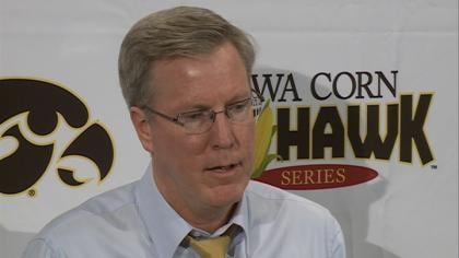 The Hawkeyes snapped a three game losing streak to Iowa State.