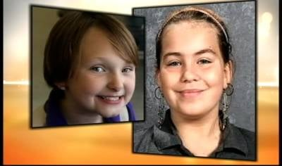 Elizabeth Collins and Lyric Cook went missing while riding their bikes in Evansdale in July.