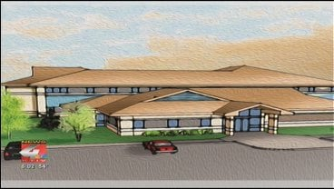 Drawings of new Jackson Recovery clinic for teen substance abuse and mental health.