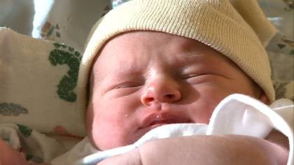 Anna Jean Burton was born at St. Luke's Regional Medical Center on 12-12-12.