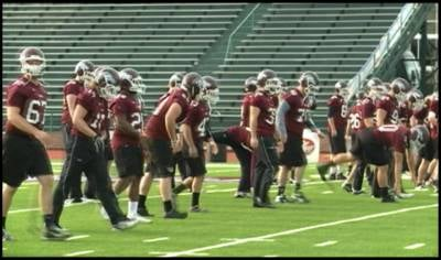 On the eve of the NAIA championship game, Morningside was able to work out at Barron Stadium in Rome, Georgia, for the first time on Wednesday.
