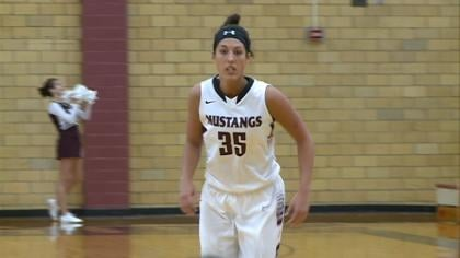 Hanna Blum helped the #3 Morningside women beat Midland, 77-53, on Saturday in Sioux City.