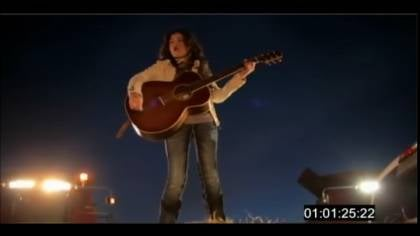 Kelsey Klingensmith's first music video was filmed around her home town of Moville, Iowa.