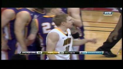 Gesell and the Hawkeyes are now 9-3 on the season.