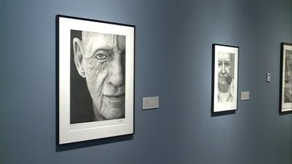 Sioux City Art Center unveils exhibit with life like drawings.