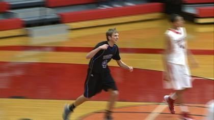 Grant Anderson had 22 points in Wayne's 53-51 overtime win at South Sioux City on Friday.