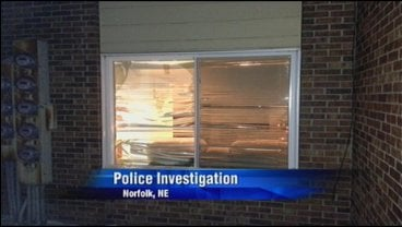 © Police say the suspects smashed a window to gain entry