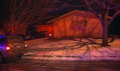 Five people were inside the house at 76 Ridgeview when the fire started around 8 p.m., but none were hurt.