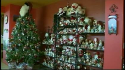 Jeri Gonzales has a jaw-dropping Santa Clause collection.