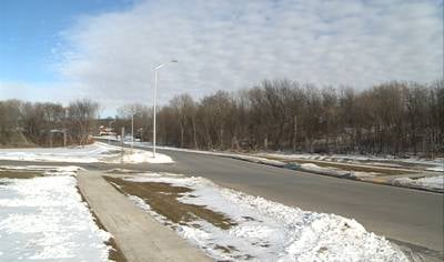 Street view of Glen Oaks Boulevard extension near 31st Street in Sioux City.