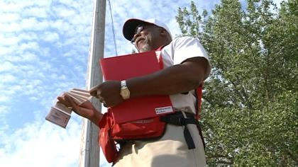 "© ""I think it's my turn to do the helping, myself,"" said Red Cross Volunteer Maurice Evans."