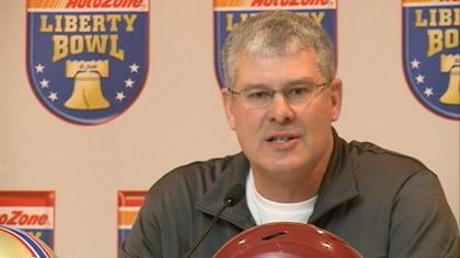 Paul Rhoads and ISU enter Monday's game with a 6-6 mark.