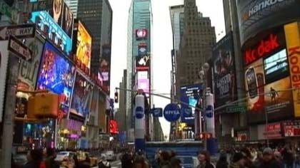 Hundreds of thousands will usher in the New Year in Times Square from all over the world.