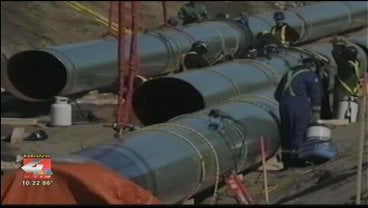 The company's pipeline is designed to carry oil from Canada to Texas through two Siouxland states.