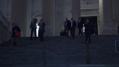Lawmakers left Capitol Hill Wednesday morning after finally avoiding the fiscal cliff.