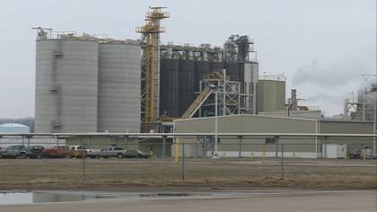 The AGP plant in Sergeant Bluff is one of 12 plants in Iowa that produce biodiesel fuel