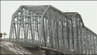 "© ""We're talking four to five million just to repaint it. We can't handle that much cost, no,"" said Clark Beck, bridge manager."