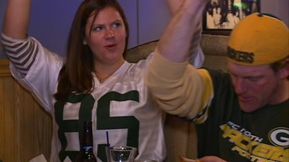 Packers fans had reason to cheer after a 24-10 victory Saturday night.
