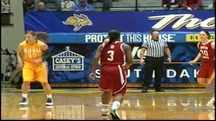 Tempestt Wilson was 8-of-17 from the floor in the Yotes loss.