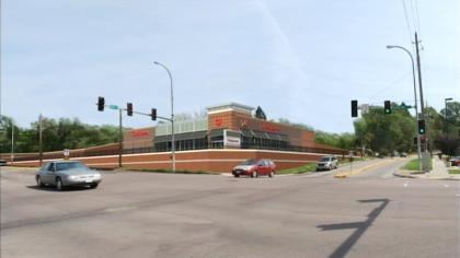 Renderings of a new Walgreens on the corner of Hamilton Blvd. and 19th in Sioux City.