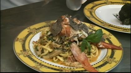 Lobster tagliolini will set you back $2,013.