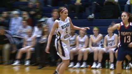 Taylor Koolstra scored 16 points in Heelan's win over North.