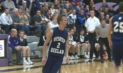 Shane Graves had 29 points in Bishop Heelan's win at Dakota Valley on Tuesday night.