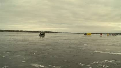 There's plenty of ice this year for ice fishermen looking to resume their favorite winter activity.