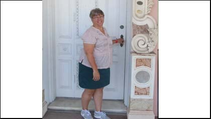 Get Fit participant Beth Strub of South Sioux City, Nebraska.