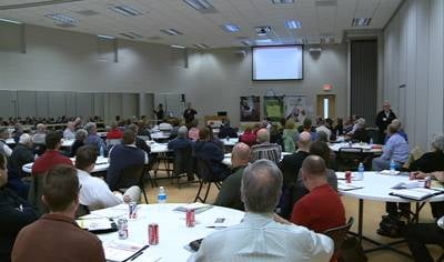 Clean Energy talks to local leaders about economic impact of Rock Island project.