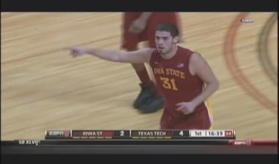 Josh Gray scored 16 points to lead Texas Tech to a 56-51 win over Iowa State on Wednesday.