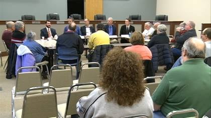 The Sioux City School District held its first education forum of the year with state lawmakers Saturday.
