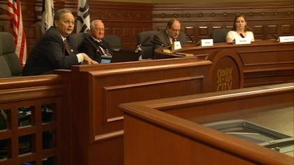 Four candidates are vying for the open seat on the Sioux City School Board.