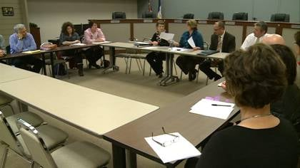 The Sioux City school board exchanged figures with the teachers union, as the first step of salary negotiations.
