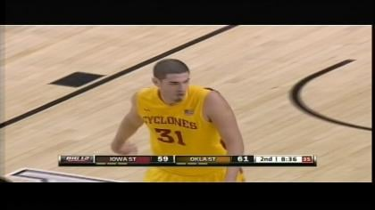 Freshman Georges Niang had 16 points in Iowa State's 78-76 loss at Oklahoma State.