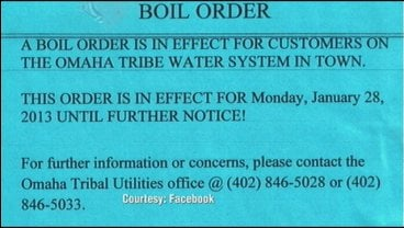 A boil order is in effect for Macy, Nebraska.