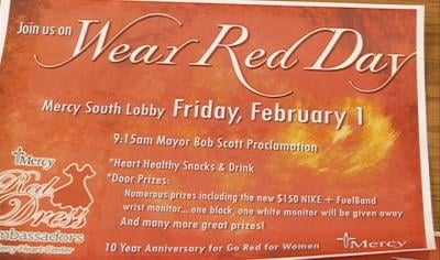 Wear Red Day kicks off American Heart Month.
