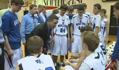 The Wayne boys basketball team is 16-3 and is ranked sixth in Nebraska's Class C1.